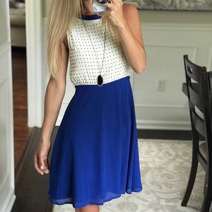 Blue and White Dress- Boutique in Ocean City, NJ